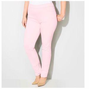 Pants - Women Pink Jeggings Size 20
